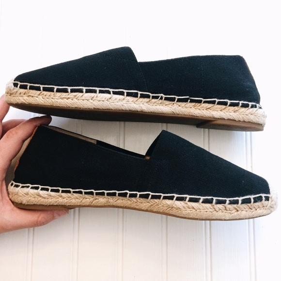 86231ef9a8e Vionic Shoes - Vionic Valeri black canvas espadrille slip-on flat